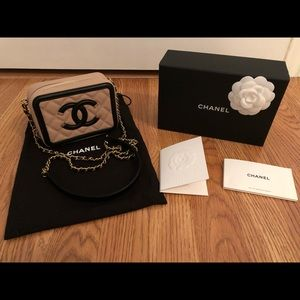 Chanel CC Small Filigree Vanity Case 2019 BNWT